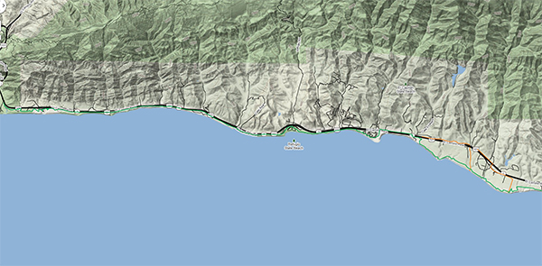 Gaviota Map Picture